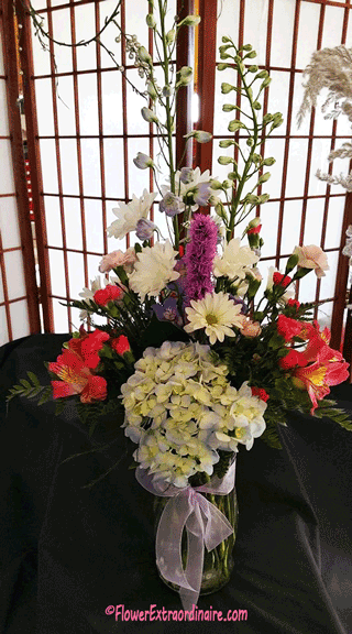 floral arrangements and flowers for events, weddings, parties, holidays